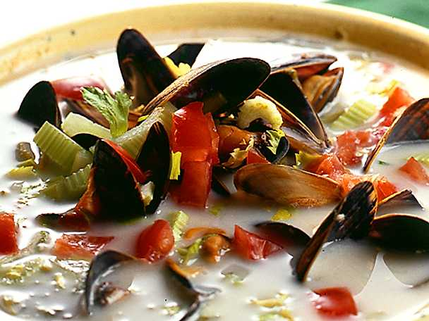 Clam Chowder - amerikansk musselsoppa
