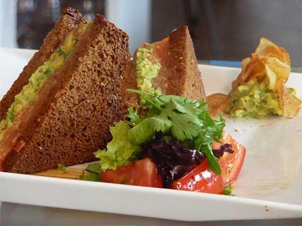 Clubsandwich med gravlax