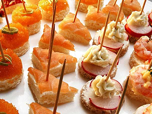 Cocktailcanapéer