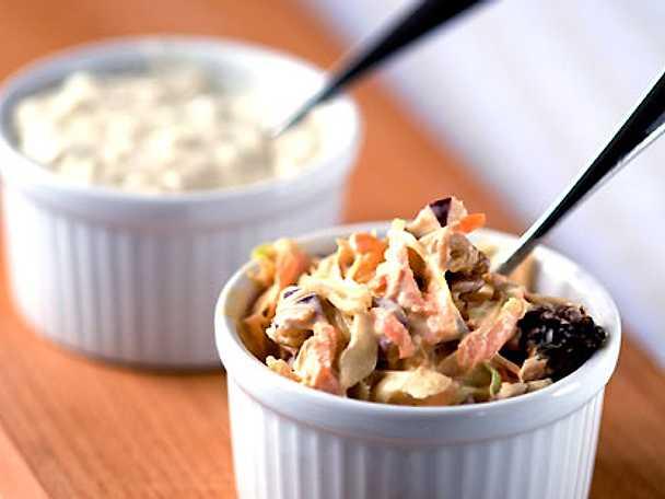 Coleslaw med valnötter
