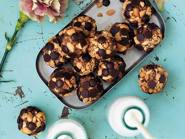 Cookie dough-chokladbollar