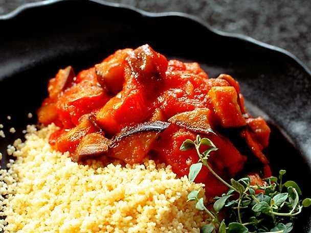 Couscous med ratatouille