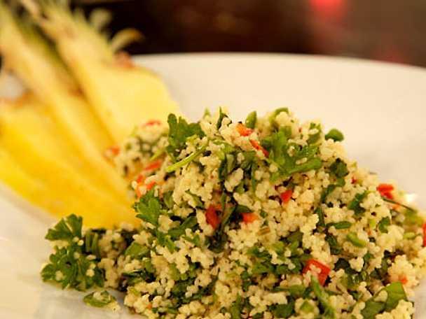 Couscous med thaibasilika