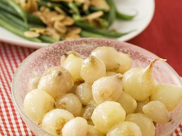 Creamed onions