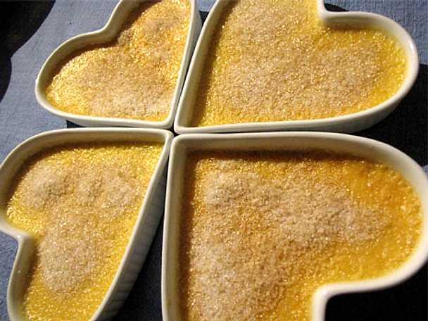 Crème Brûlée med kardemumma