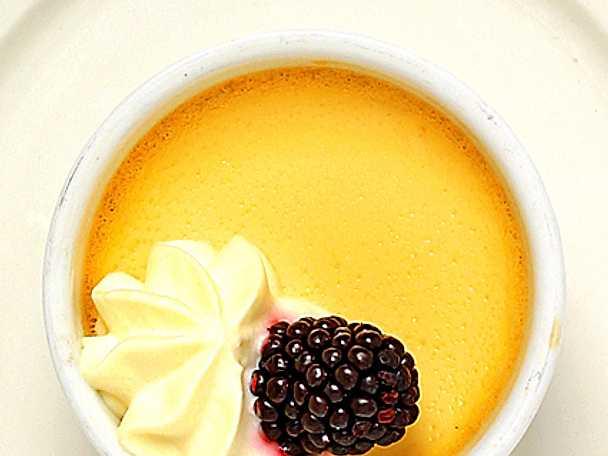 Crème caramel i kokott