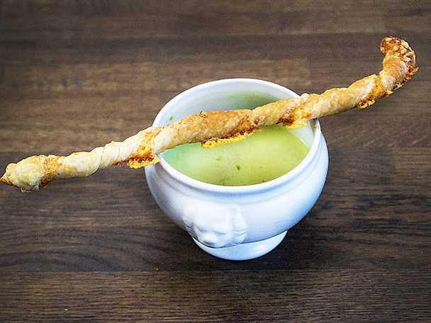 Crème ninon med västerbottenspinne