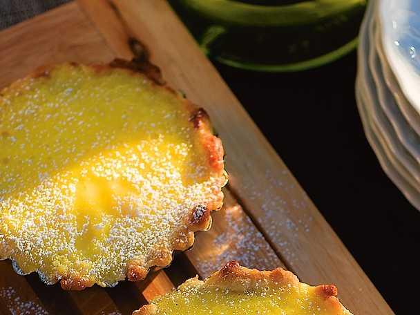 Crostata di limone - minipaj med citron