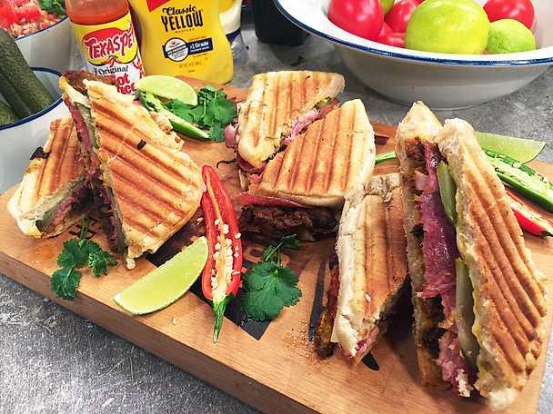 Cuban sandwich key largo style