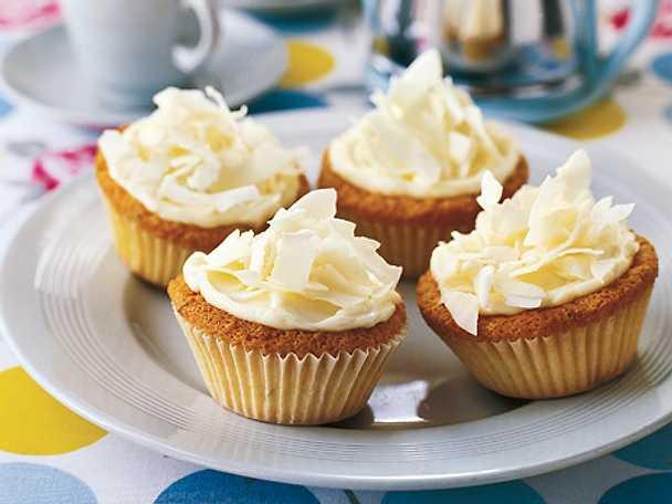 Cupcakes med kokos och lime