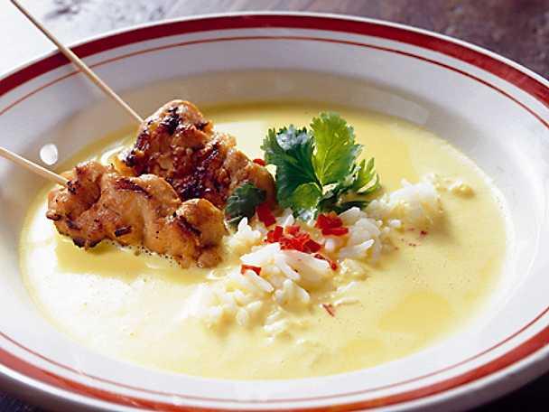 Currysoppa med fasanspett