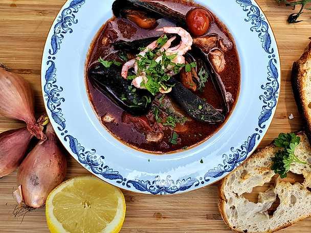 Dantes italienska fisksoppa
