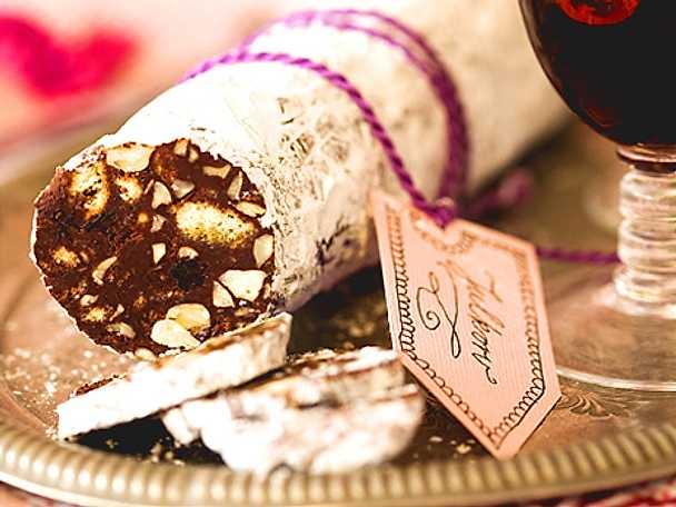 Den bästa julkorven i choklad