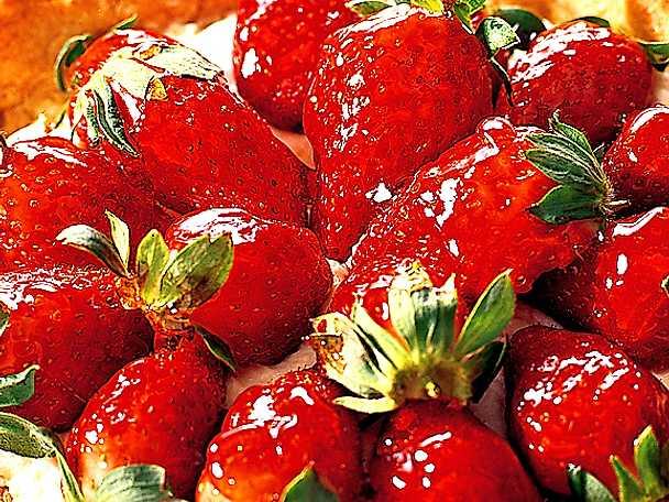 Den godaste jordgubbspajen