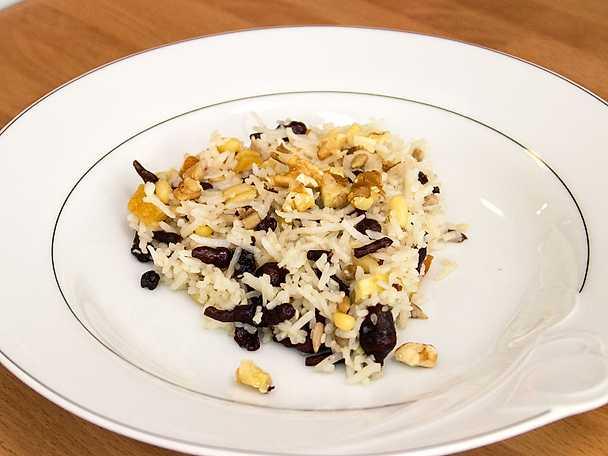 Desi - ris och torkad blandfrukt