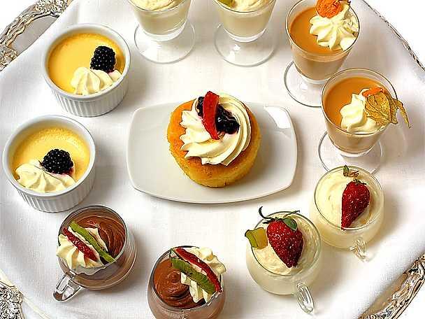 Dessertbricka
