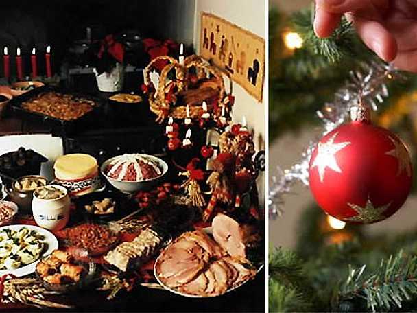 Det klassiska julbordet