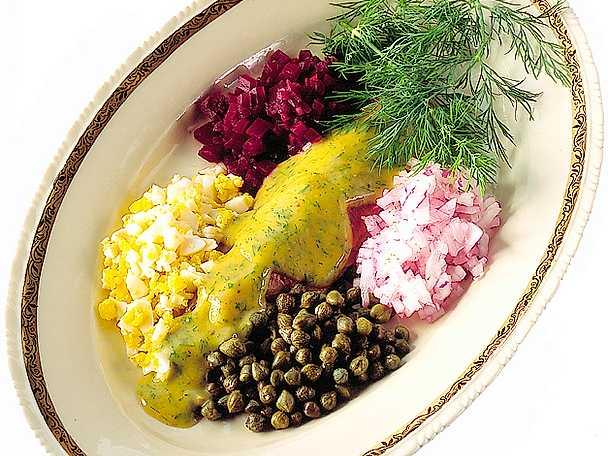 Dill- och senapsmarinerad böckling