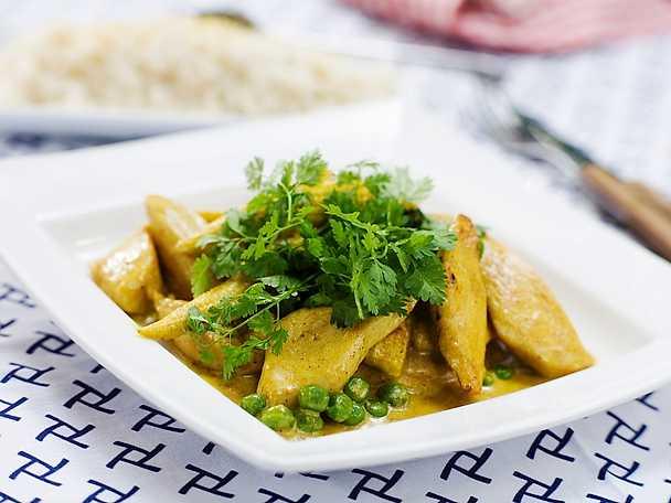 Djungelkyckling med curry