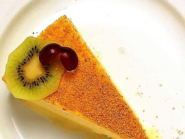 Djupfryst cheesecake