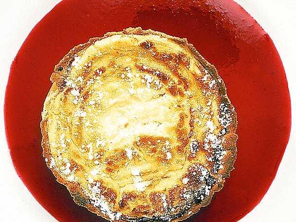 Djupfryst crème fraiche-tårta, original