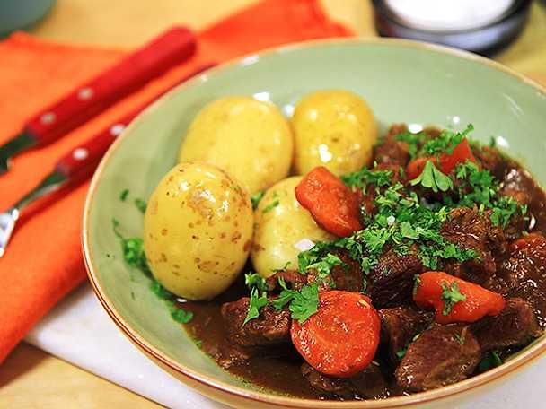 Donals köttgryta med stout