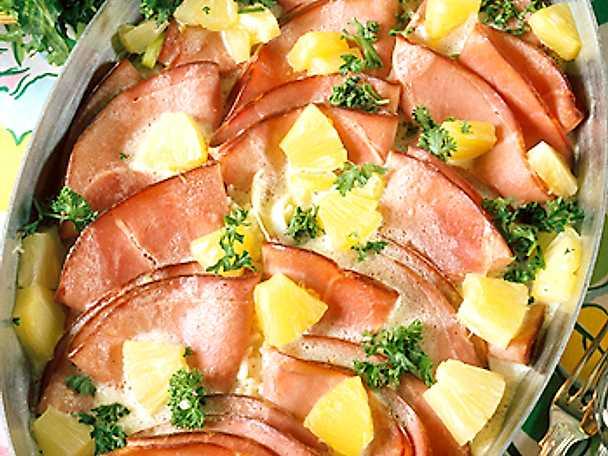 Drömskinka med ananas