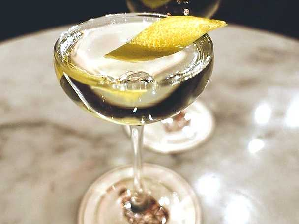 Dry Martini, Mathin Lundgrens recept