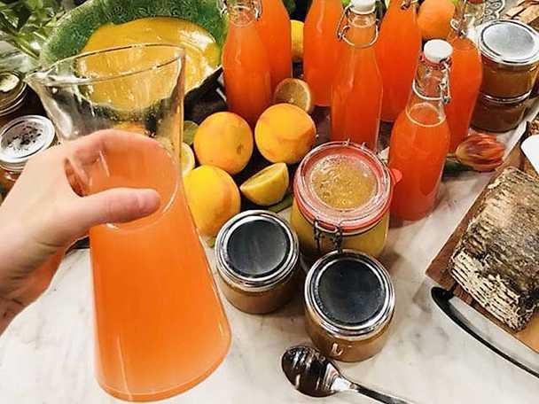 Ekologisk citruslemonad