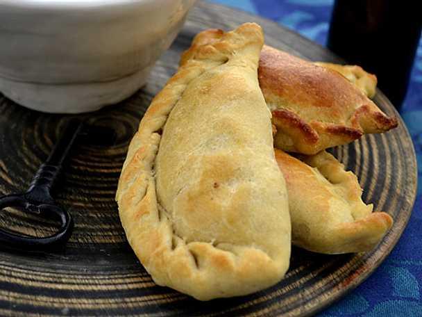 Empanadas på tre olika sätt