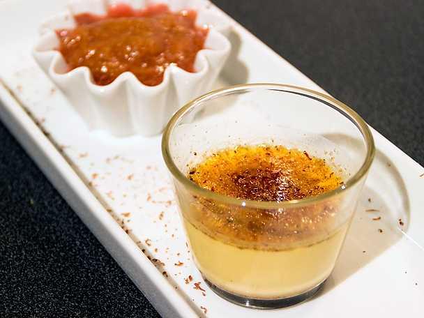 En fransk klassiker - crème brûlée