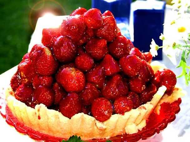 En jordgubbe för hälsan