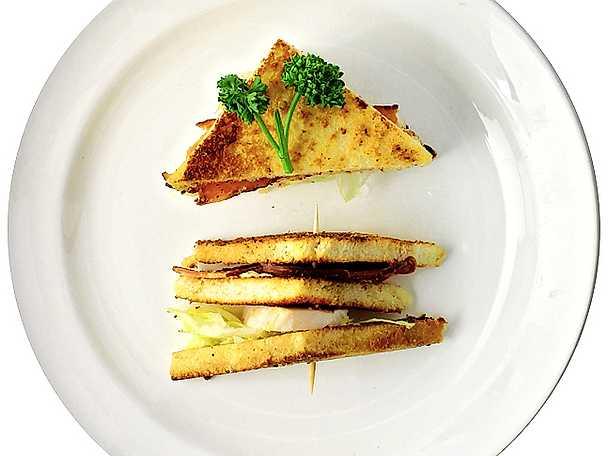 En liten Club Sandwich