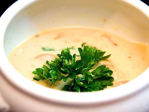 En mustig och krämig soppa