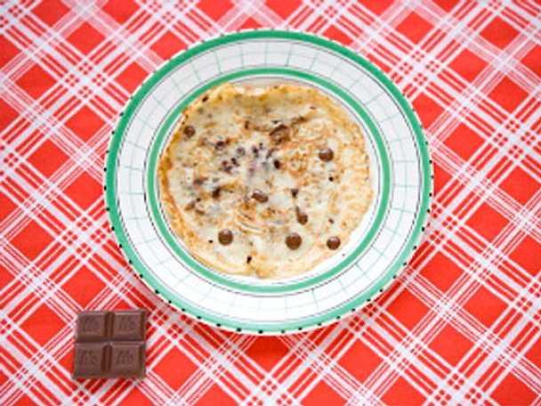 En smarrig chokladdröm - pannkakor