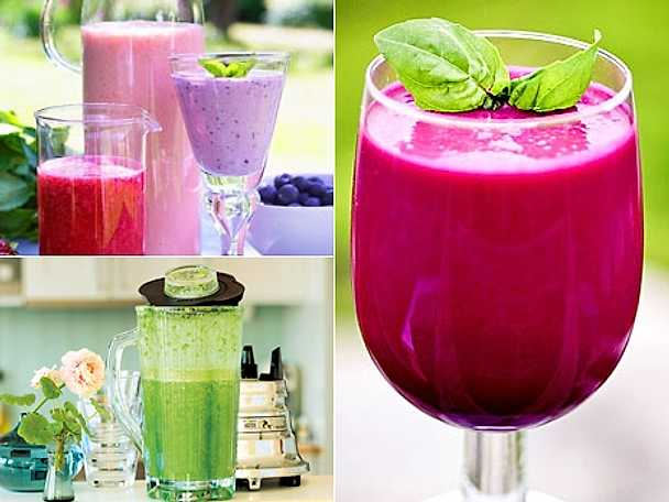 Energirika smoothies
