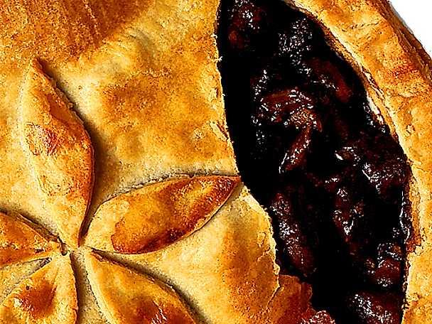 Engelsk köttpaj med njure