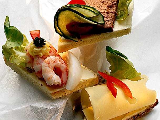 Enkel sandwich