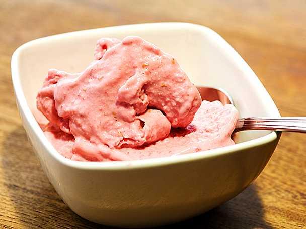 Enkel yoghurtglass