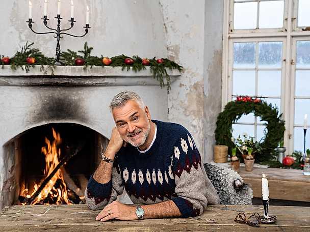 Ernst porträtt - Jul med Ernst 2018