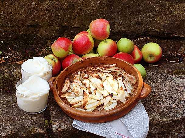 Ewas äppeltarte