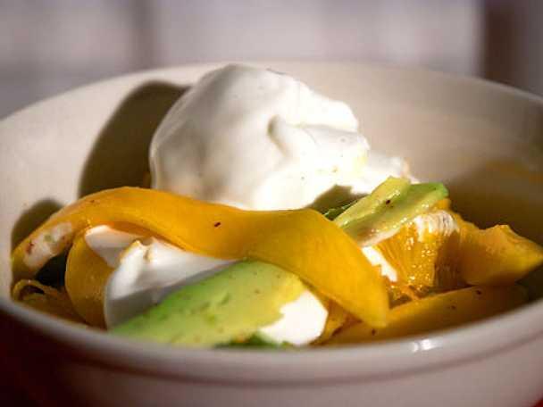 Exotisk frukt med lakrits och vanilj