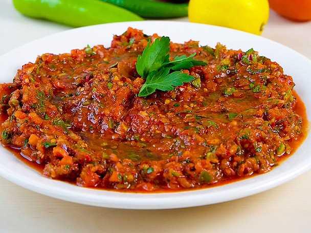 Ezme - Turkisk  tomatsallad