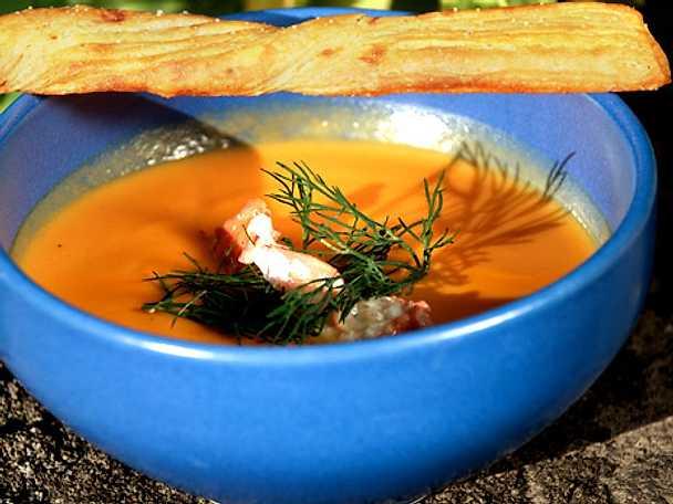 Falsk hummersoppa