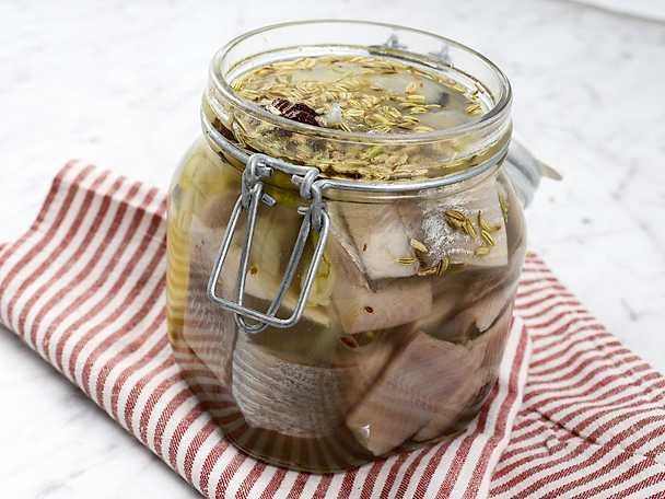 Fänkålssill med citron - se & gör