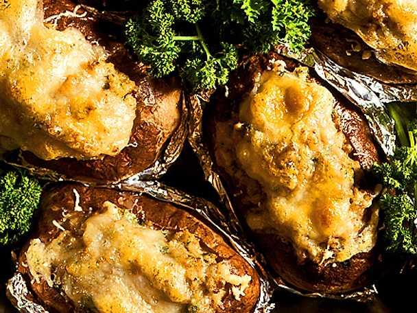 Färsfyllda potatisar