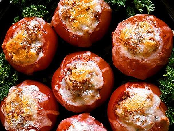 Färsfyllda tomater