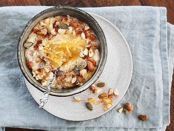 Felix Frukostgröt med nötter och rivet äpple
