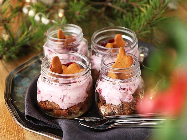 Snabb Cheesecake Med Mjuk Pepparkaka Recept Från Köketse