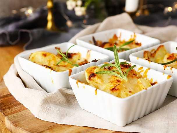Felix Snabb potatisgratäng med tryffelolja och parmesan